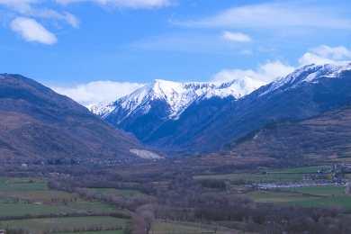 Catalunya, Gironès, La Cerdenya, Valle de Querol