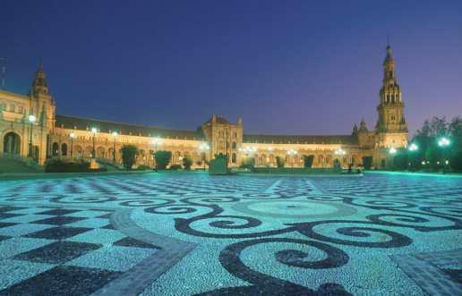 España, Sevilla, Plaza de España