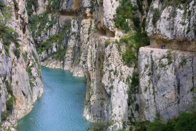 Catalunya, Pallars Jussà, Montsec D´ares, Desfiladero de Mont-Rebei, Noguera Ribagorçana Autor: Nelson Souto