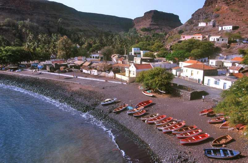 Cabo Verde, Isla Santiago, Cidade Velha