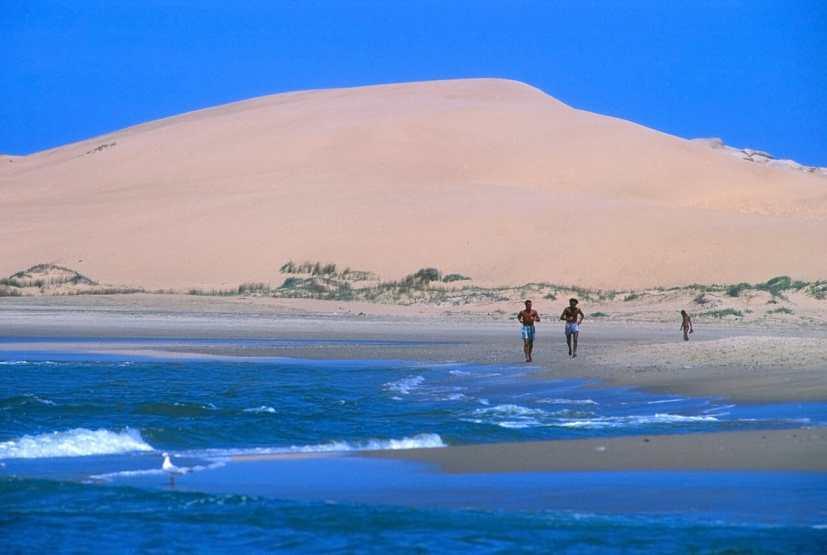 Uruguay, Rocha, Barra de Balizas, Dunas