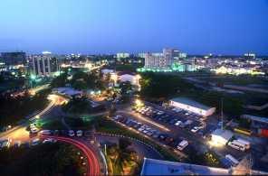 Nigeria, Ciudad de Lagos, Noche