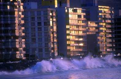 Chile, Viña del Mar, nocturno