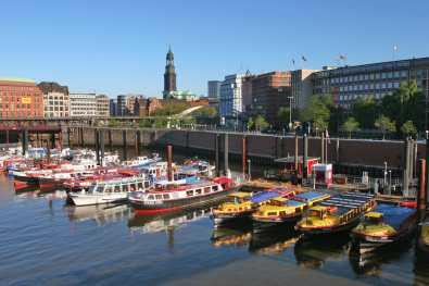 Alemania, Hamburgo Canal de la Aduana