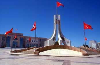 Capital Túnez, Plaza del Ayuntamiento.