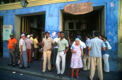 Cuba, La Habana, Casa de la Trova