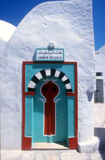 Túnez Hammamet, puerta