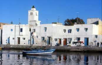 Túnez Bizerta, Puerto pesca