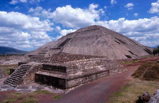 México, Teothiuacan, Piramide del Sol
