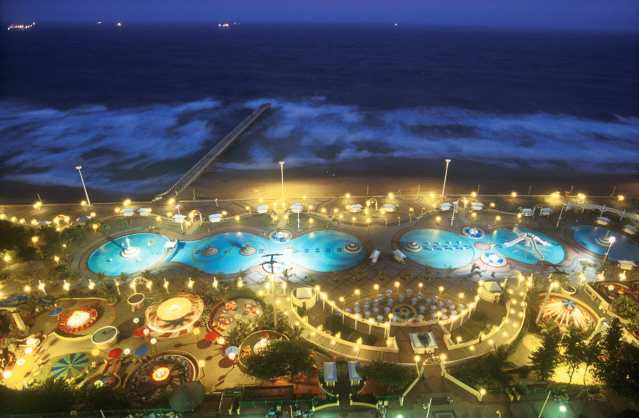 Sudáfrica, Durban, nocturno