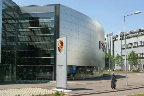 Alemania, Stuttgart, Baden-Württemberg, Fabrica Porche