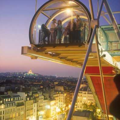 "Francia, Paris, Centro Pompidou, 3er premio Word Press Photo 1991, ""Categoría Word Art"""