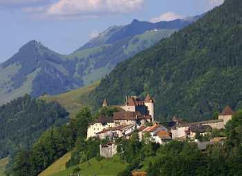 Canton de Fribourg, Fribourg, Gruyères