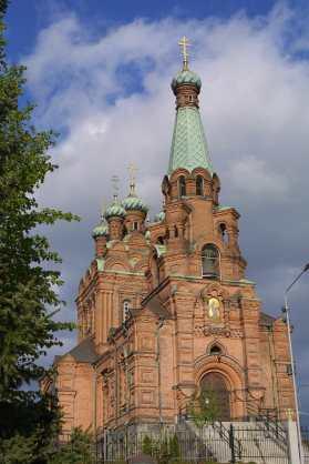 Finlandia, Tampere, Catedral Luterana