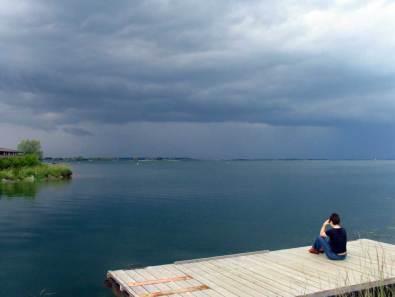 Champaña, Marne, Haute Marne, lago del Der Chantecoq
