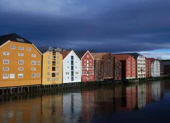 Noruega, Fiordos del Mar del Norte, Trondheim