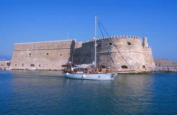 Creta, Iraklio, Fortalesa Veneciana