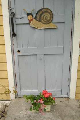 Finlandia,Portvoo, puerta