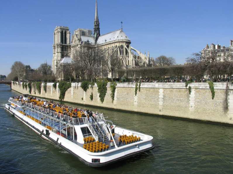 Paris, Notre Dame, río Sena