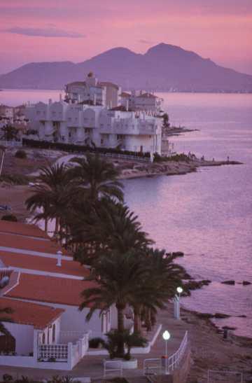 Murcia, La Manga del Mar Menor