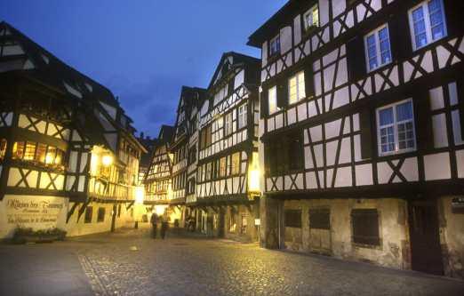 Francia, Alsacia, Strasbourg, Pequeña Francia