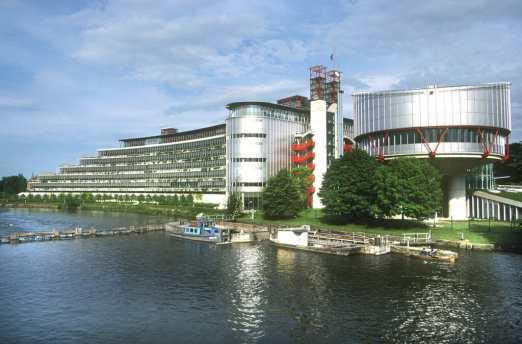Francia, Strasbourg, Palacio de Los Derechos Humanos
