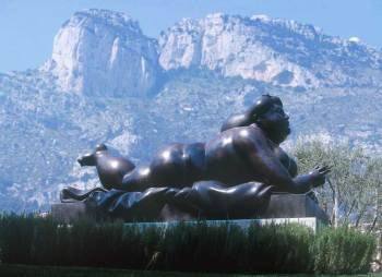 Monaco, escultura de Botero