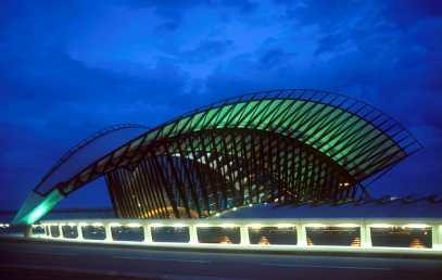 Francia, Lyon, Aeropuerto de Satolas,Estación TGB