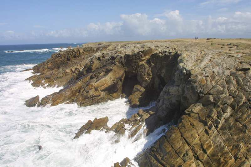 Bretaña,Punta del Percho, Morbihan, Península de Quiberon