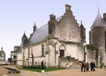 Francia. Turena, Loches, Castillo Renacentista