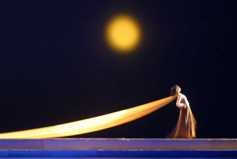 Singapur, Marina Bay, Centro de las Artes, balet de Singapur