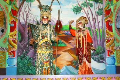 Singapur, Isla Santosa, Museo Imágenes de Singapore, Opera china