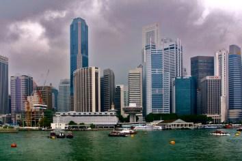 Singapur, Marina Bay