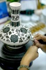 Singapur, Ming Village, artesano, porcelana dinastía Ming