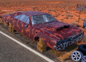 Abandonado, Dodge Charger 1969