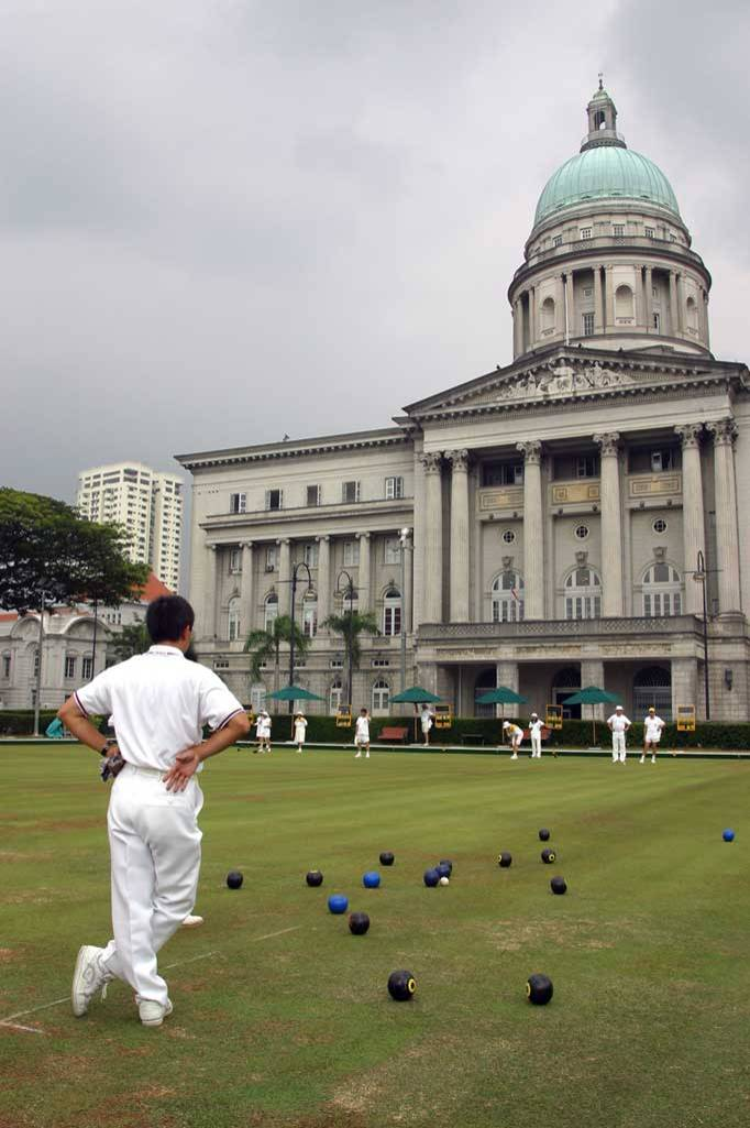 Singapur, Club de Cricket de Singapore, Palacio de Justicia