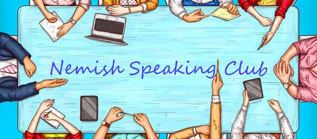 Nemish Speaking Club запрошує поспілкуватися англійською