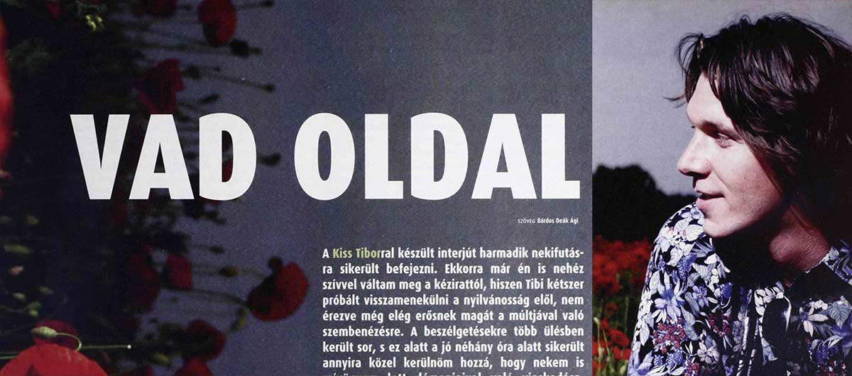 Vad oldal - Interjú Kiss Tiborral
