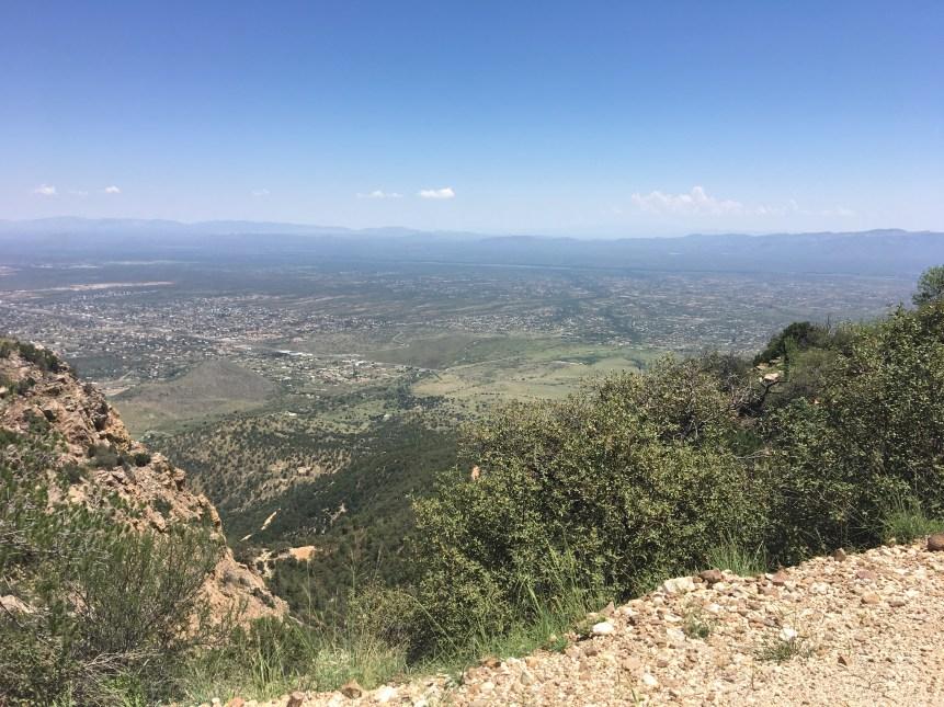 A vista of Sierra Vista