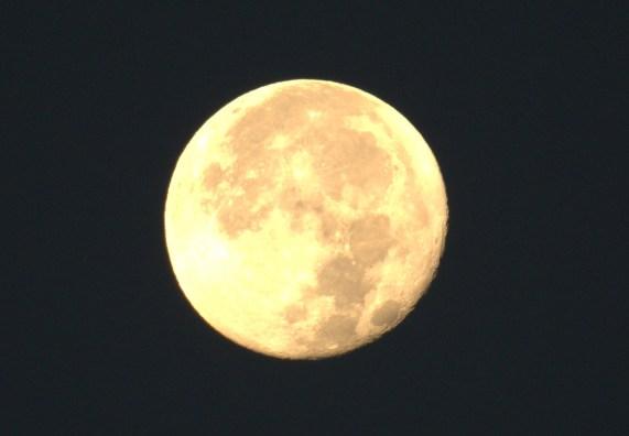 Oh yeah. The Moon. Beautiful