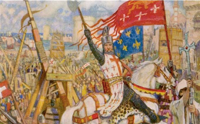 Painting-of-the-Crusades