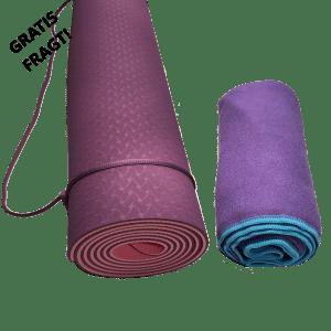 Yogasæt Lilla – Sæt til yoga og pilates