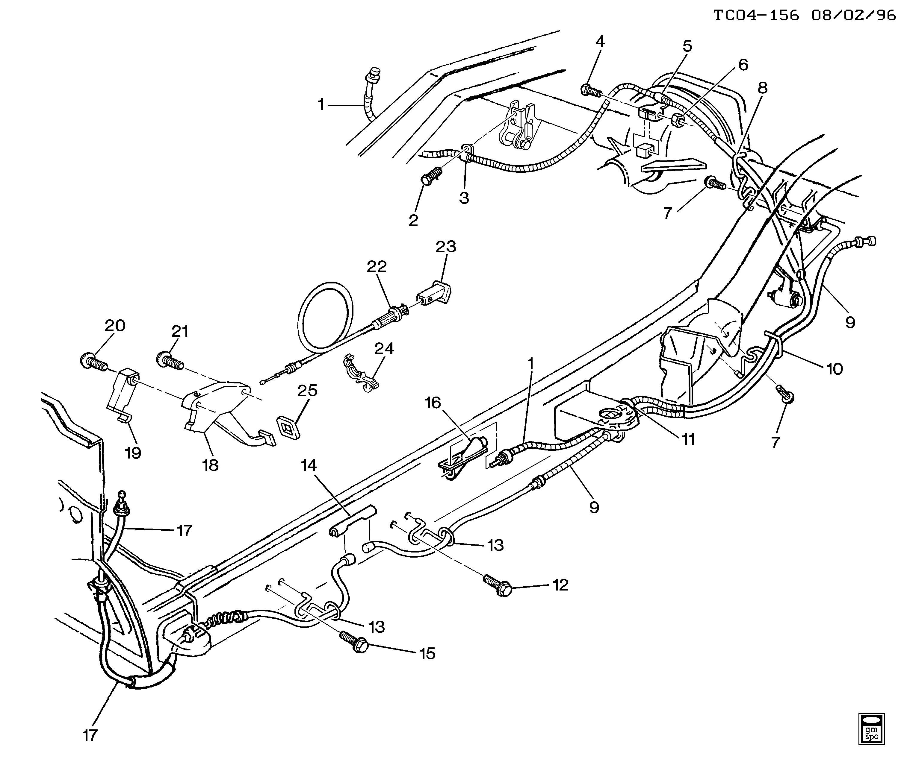Chevy Silverado Brake Line Diagram