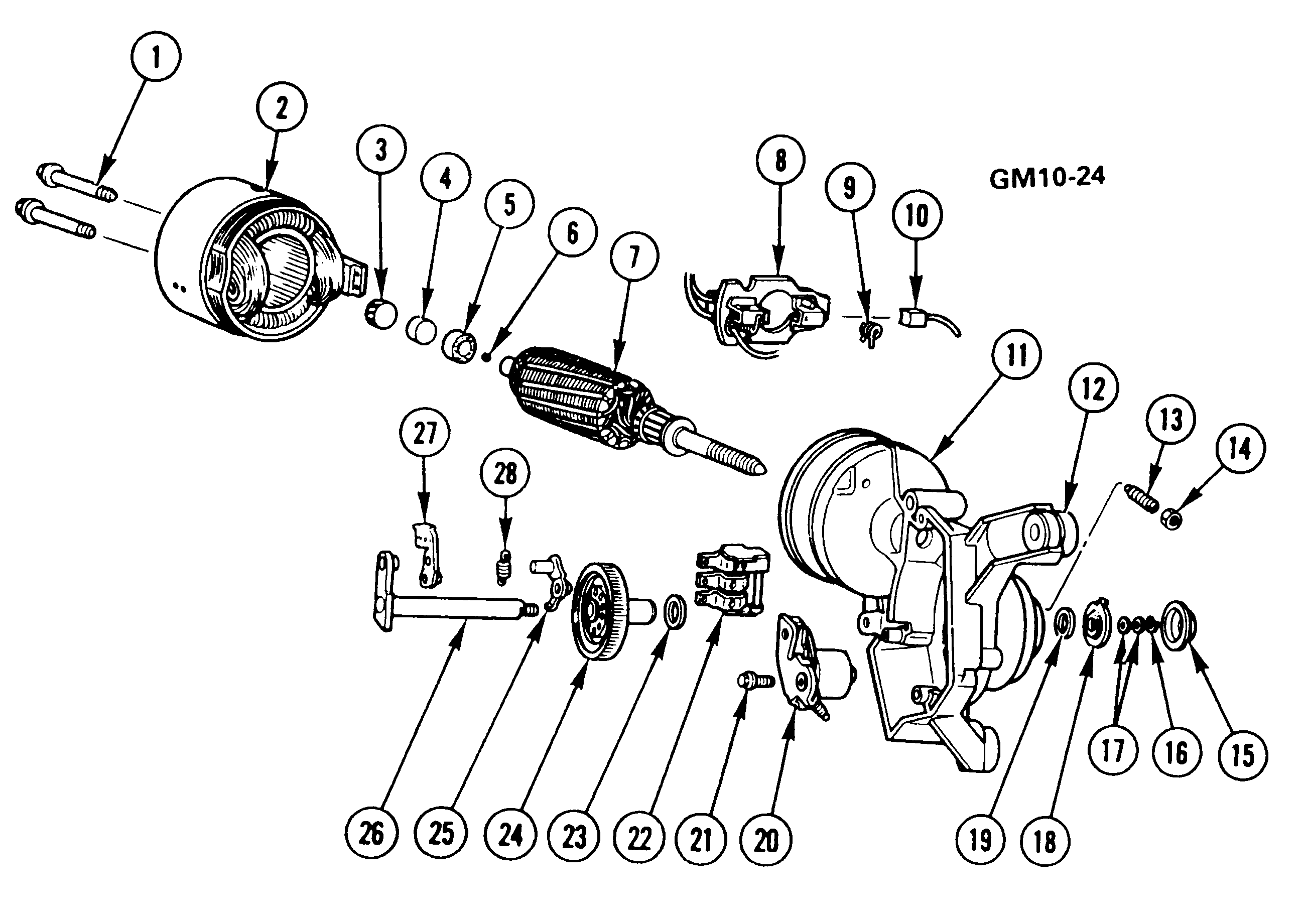 Acdelco Wiper Motor Wiring Diagram
