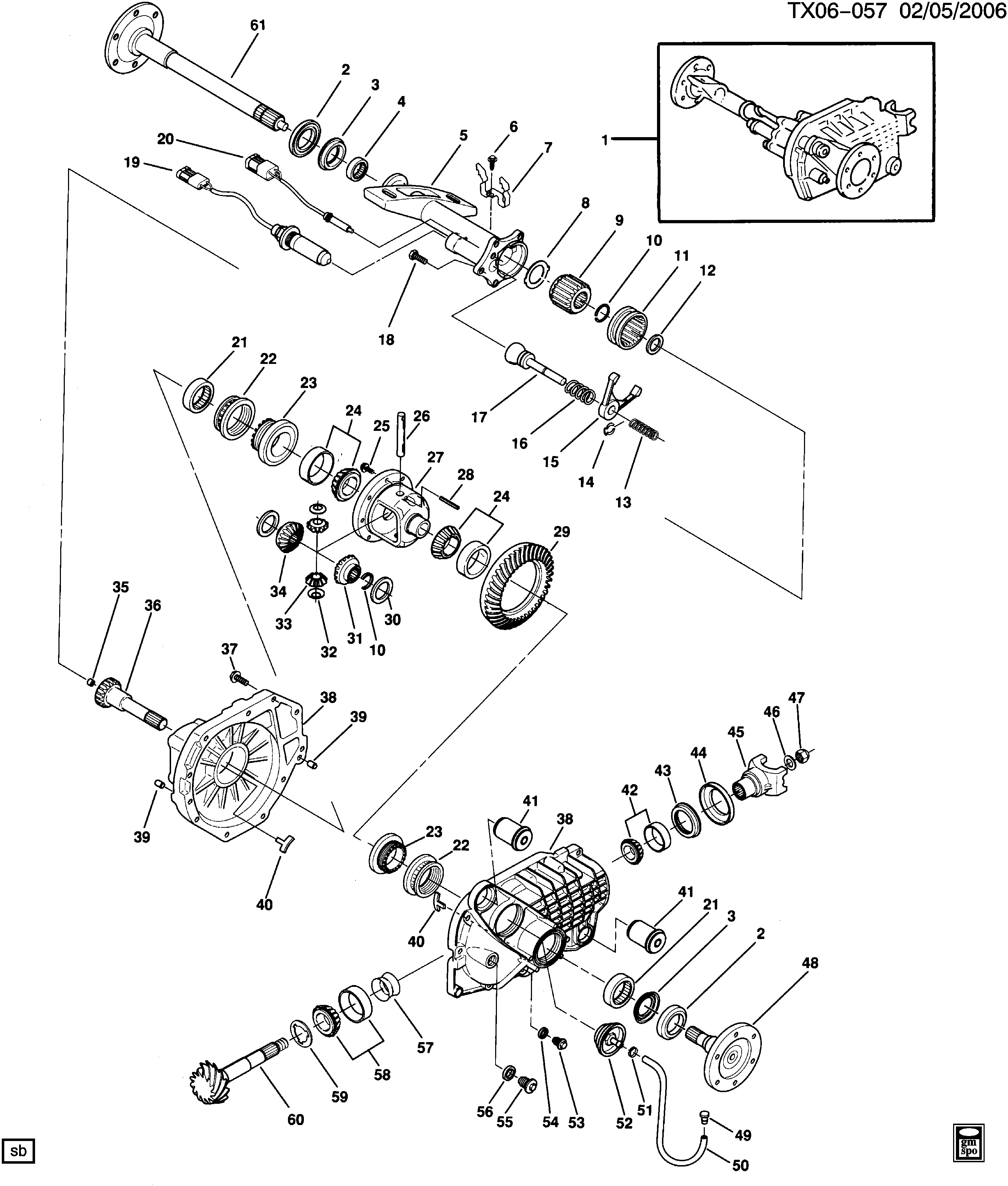 Gmc Jimmy Front Differential Diagram