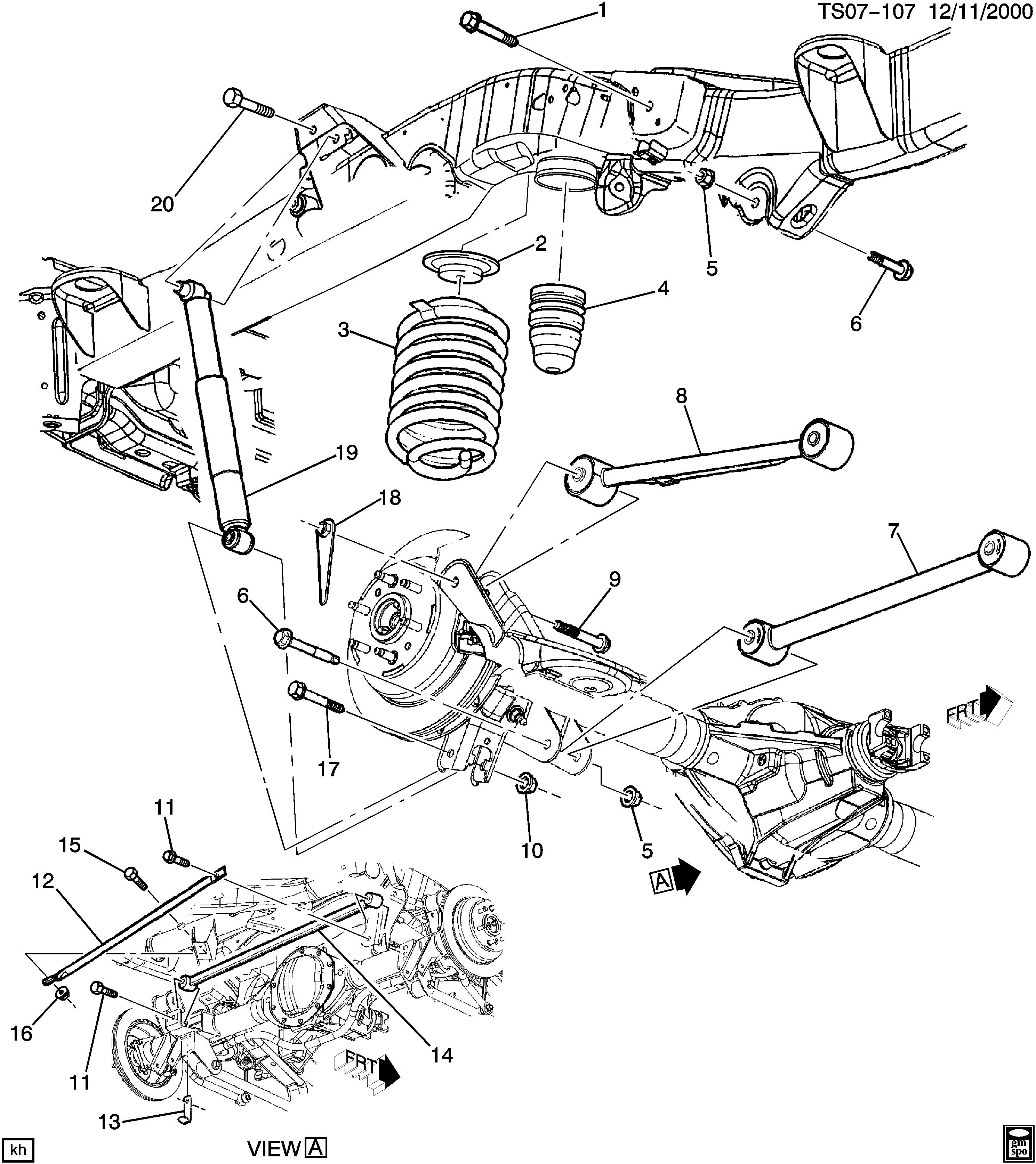 Chevrolet 4wd Suspension Diagram