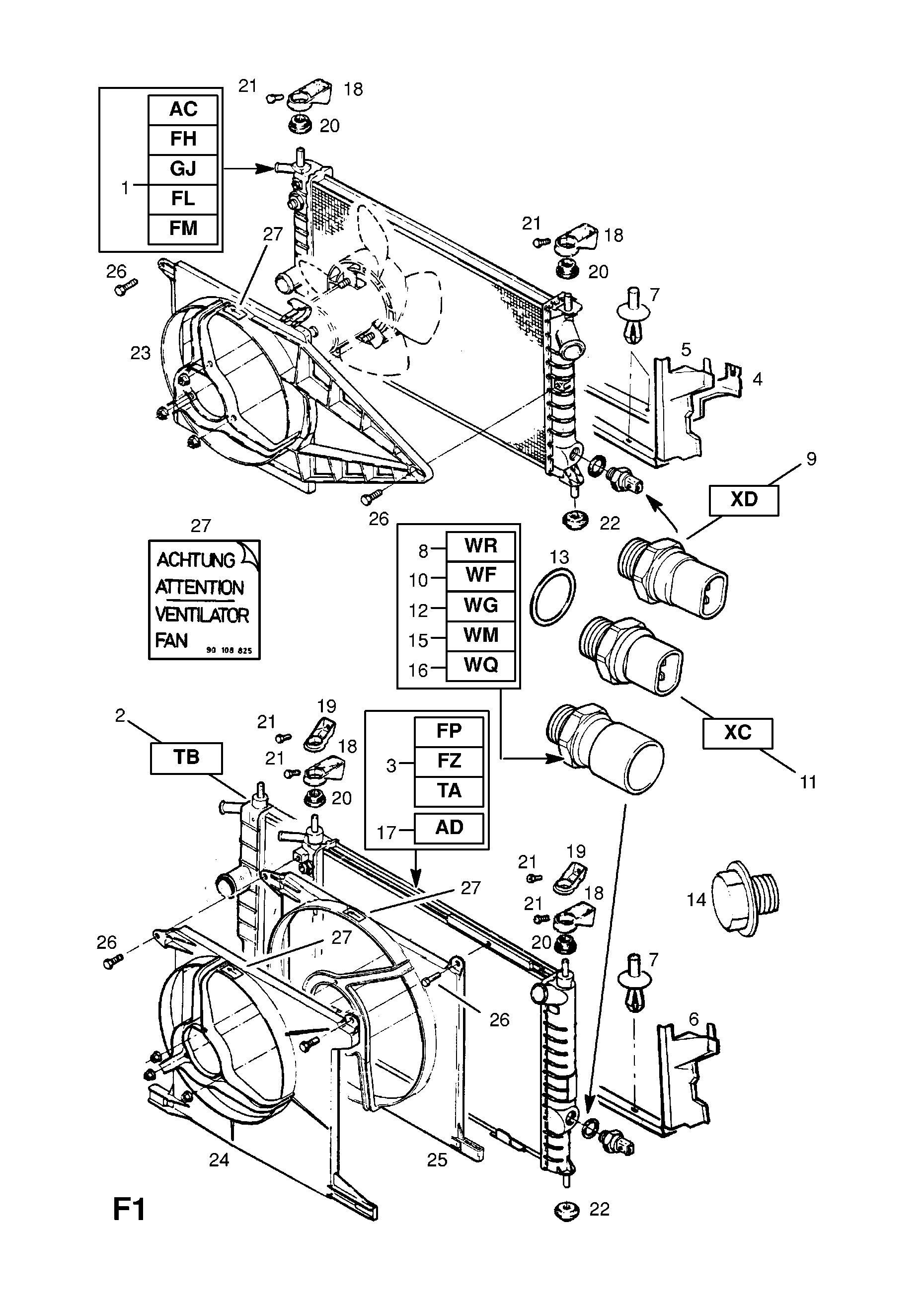 Manual Opel Astra Y17dt