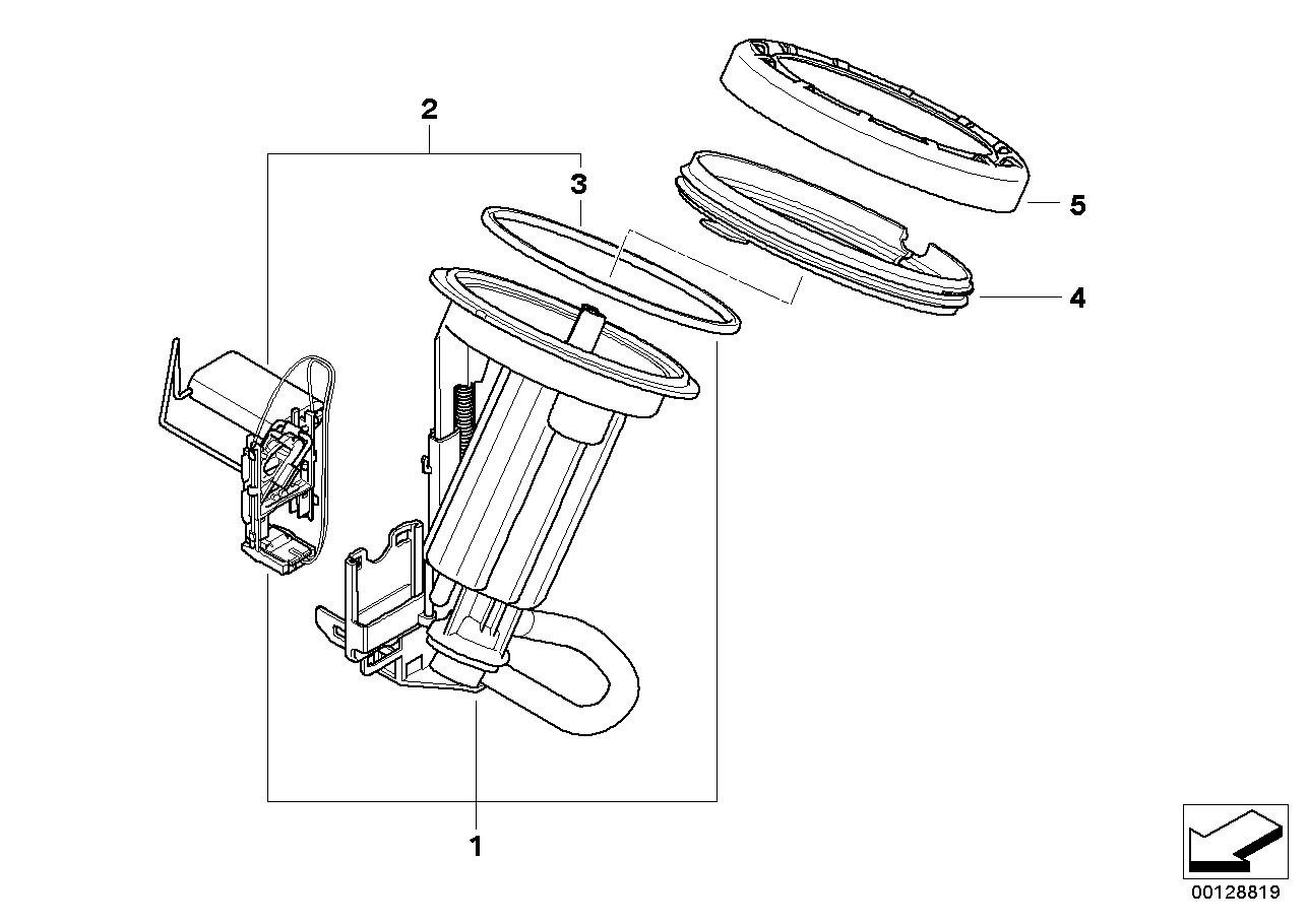 Bmw Fuel Filter Diagram