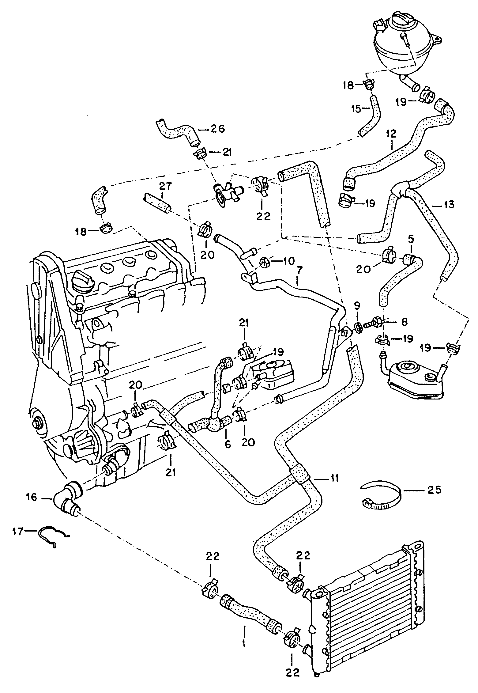Vw Jetta Coolant System Diagram