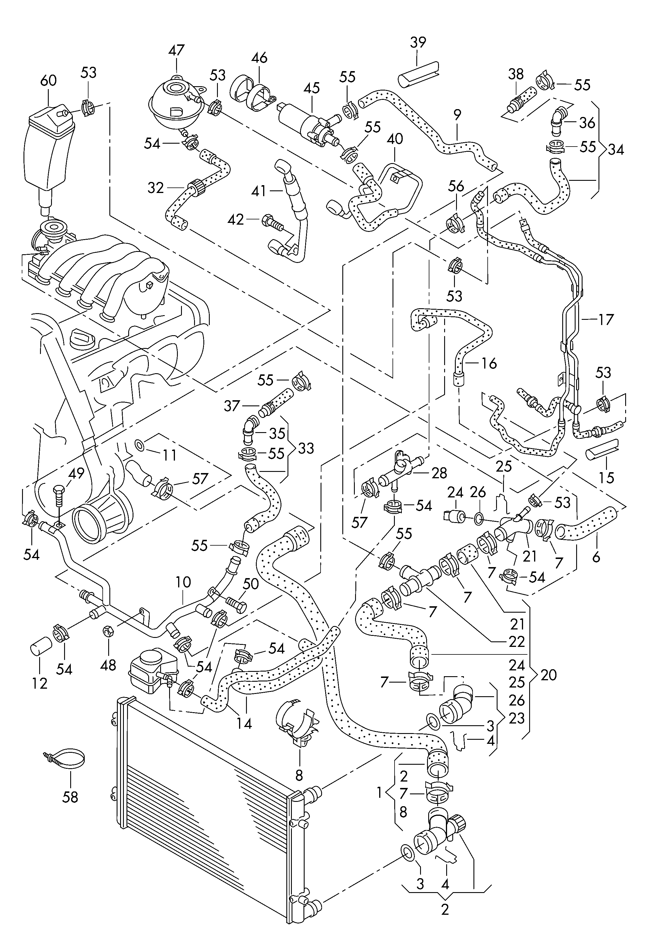 Audi Part Schematic